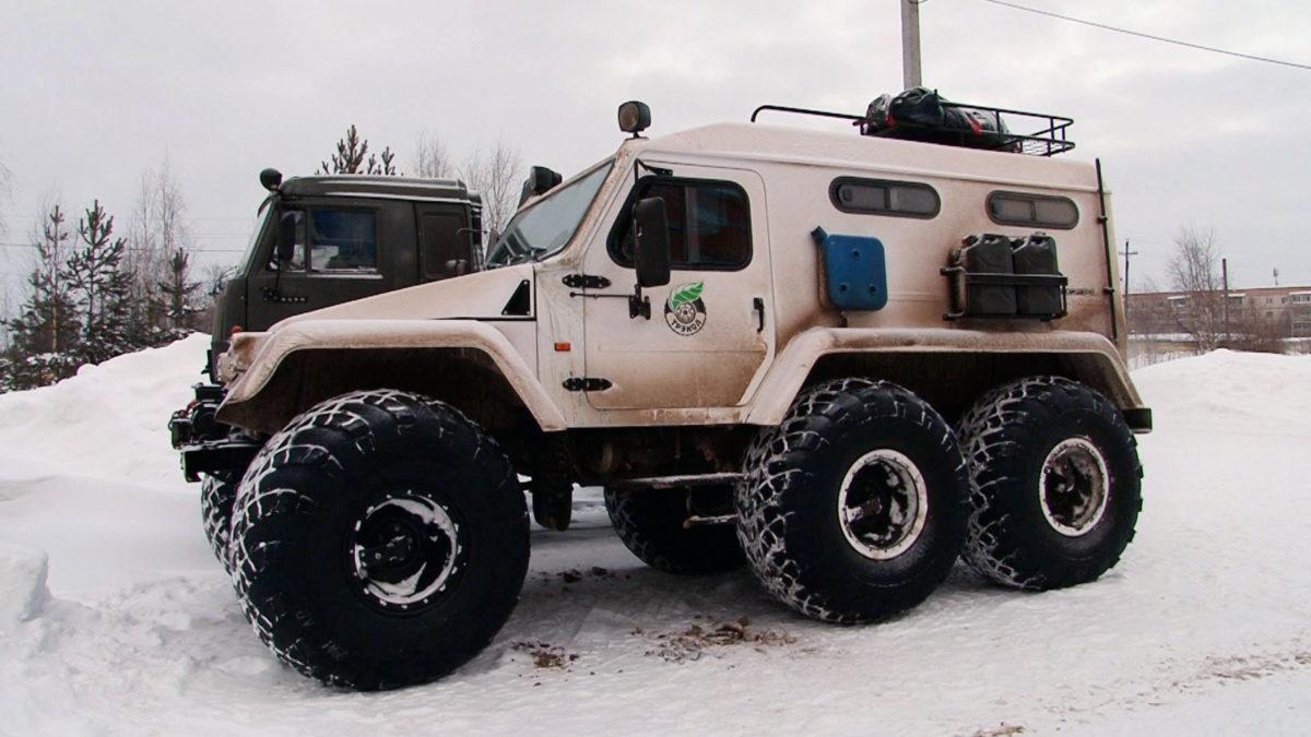 Зимняя экспедиция Министерства обороны в Сосногорске