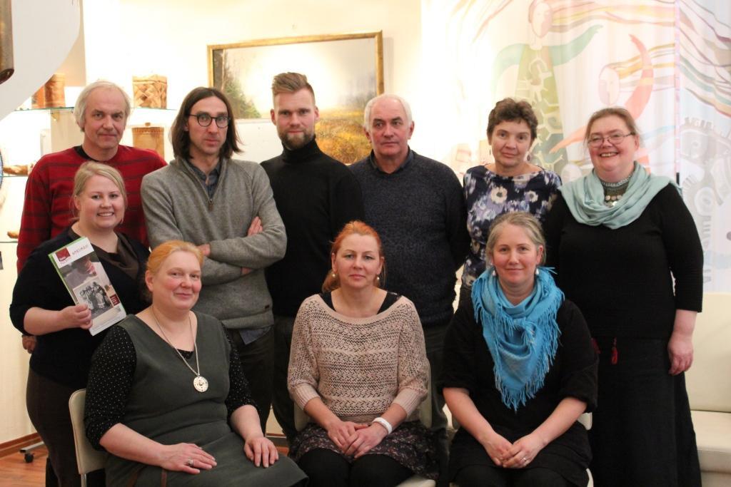 Делегация народа сету посетила Национальную гостиную Республики Коми
