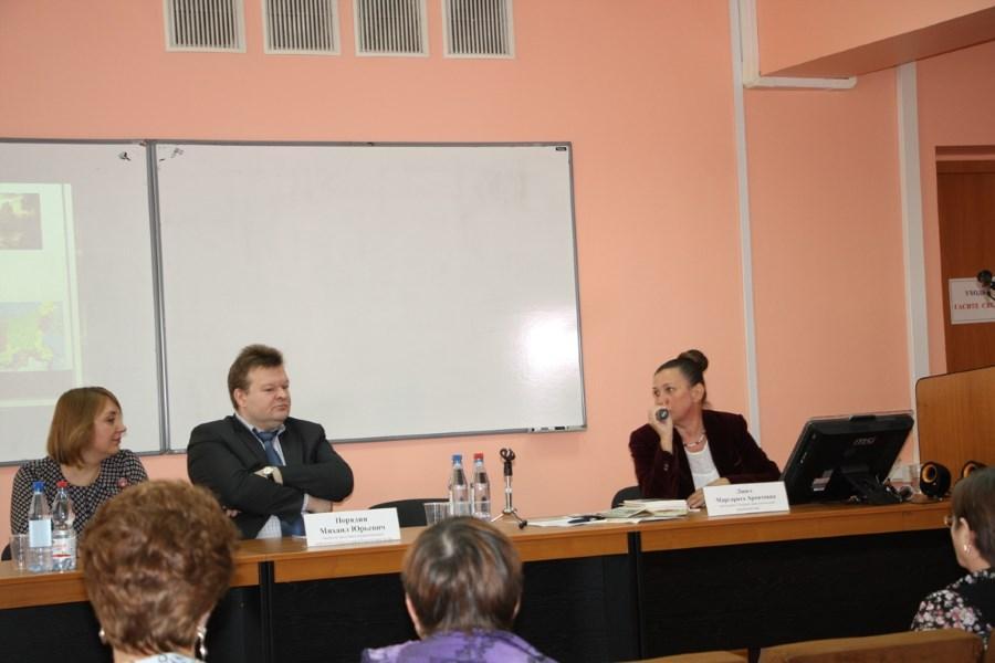 Михаил Порядин на встрече с журналистами