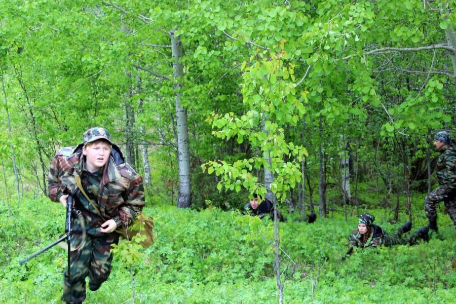 Военно-полевые сборы кадетов Северная крепость