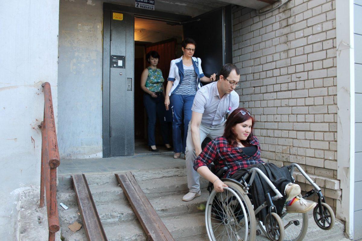 Доступная среда для инвалидов. Рейд по Сыктывкару
