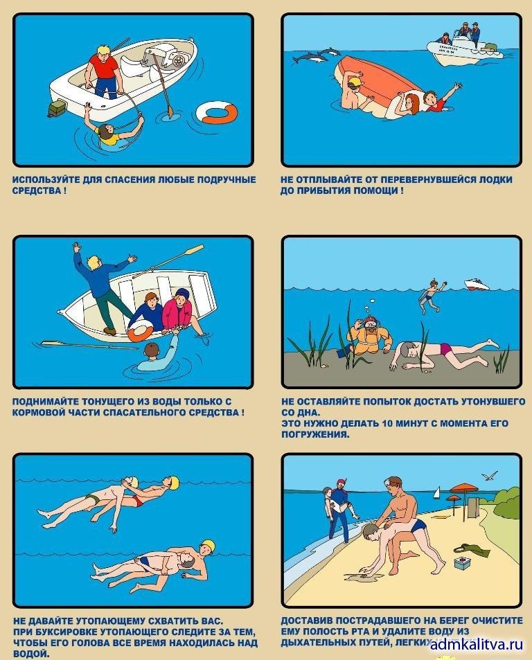 Правила пользования лодками и катерами 2