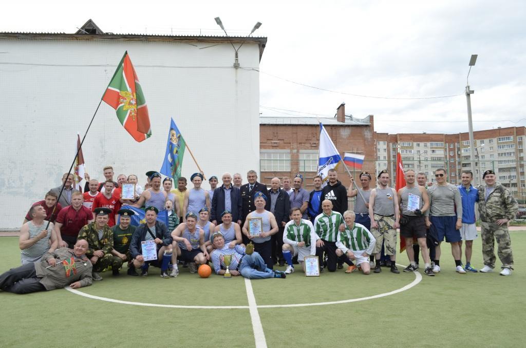 Турнир по мини-футболу среди представителей родов войск вооруженных сил России в Ухте