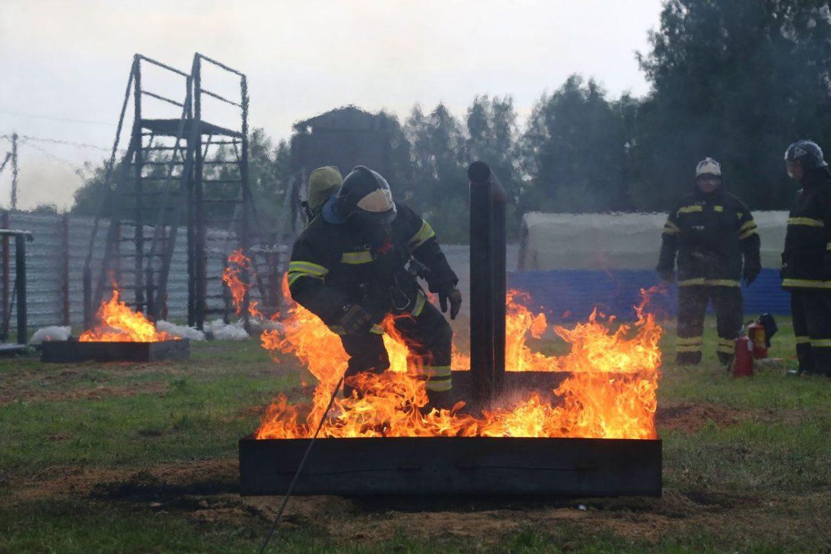 Конкурс пожарных Сторожевск