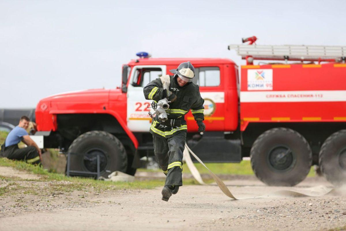 Смотр-конкурс профмастерства пожарных