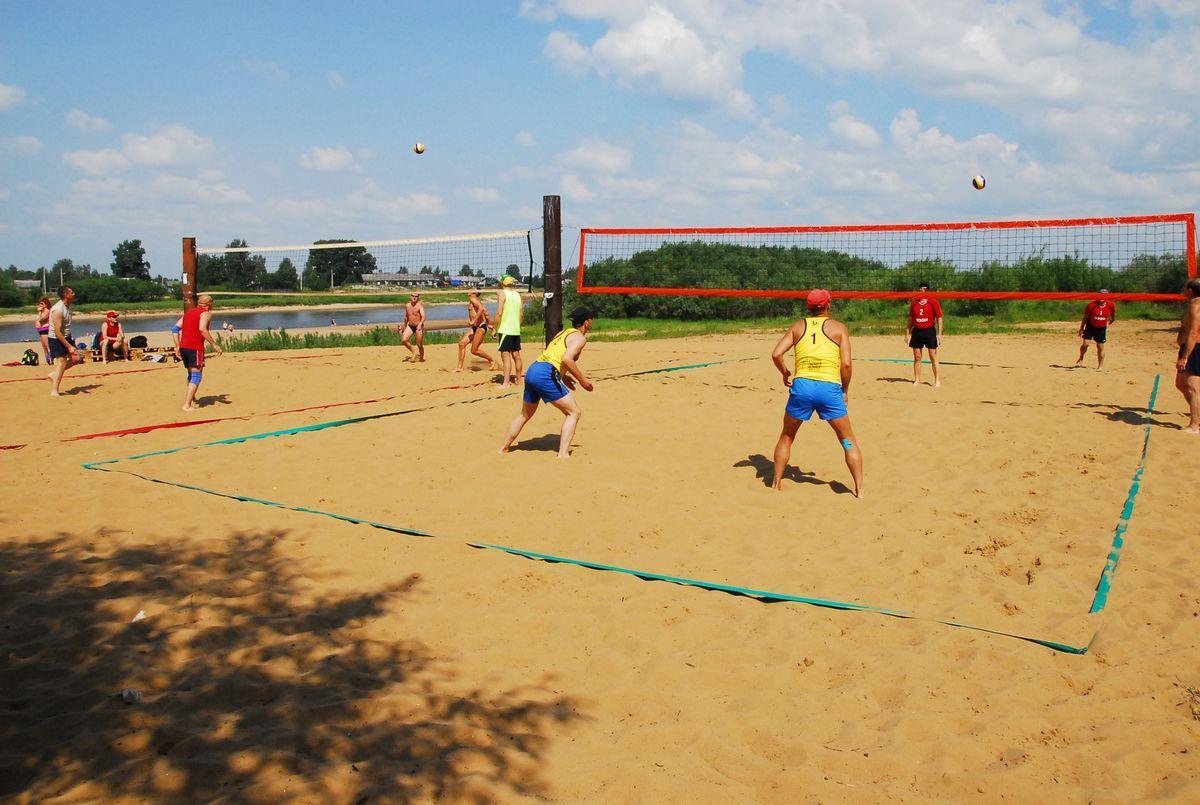 Чемпионат по пляжному волейболу в Сыктывкаре