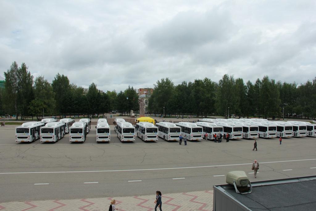 Новые автобусы на газу в Сыктывкаре