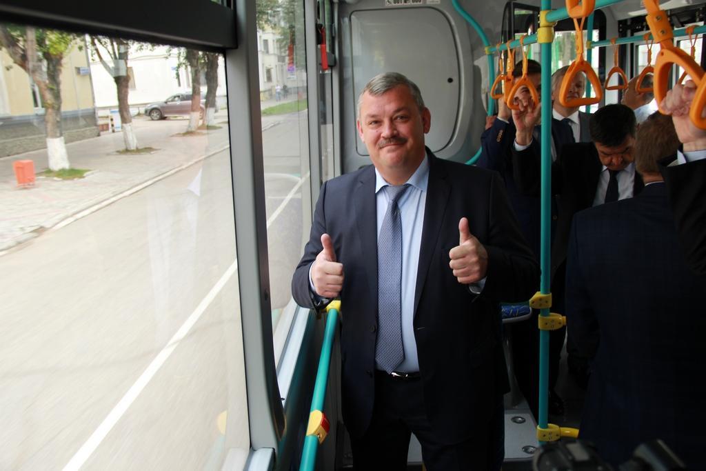 Сергей Гапликов в автобусе