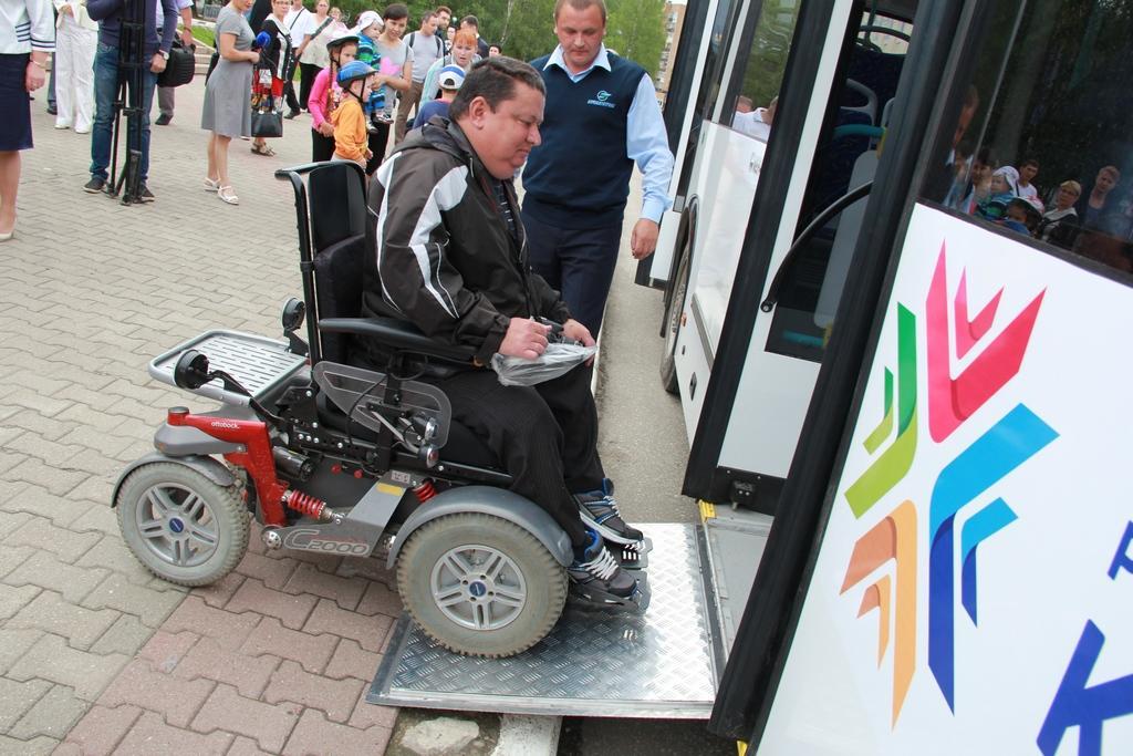 Условия для инвалидов в автобусах