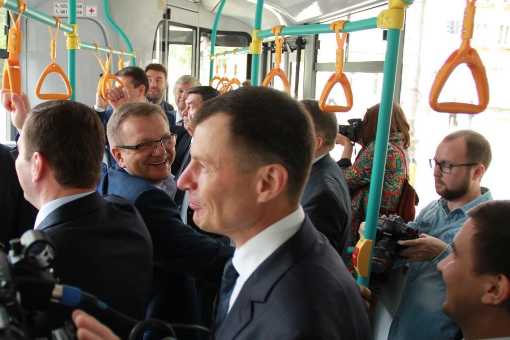 Чиновники в автобусе Сыктывкар