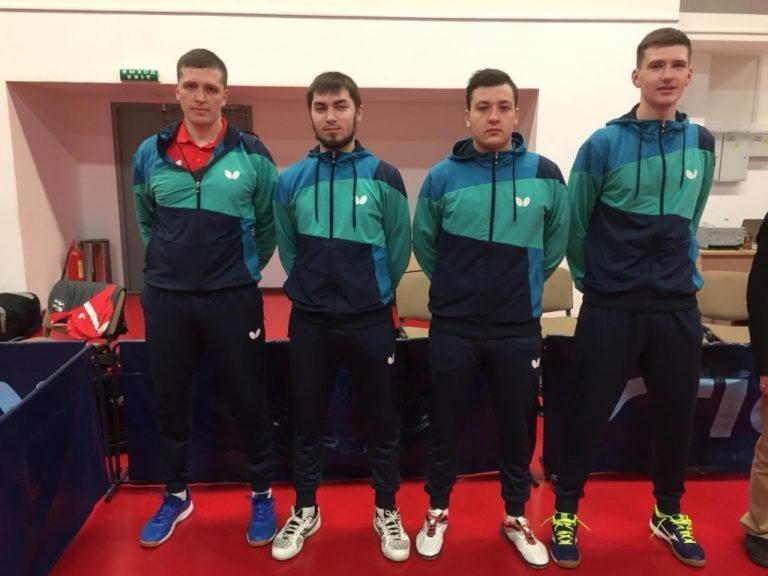 Команда Республики Коми по настольному теннису