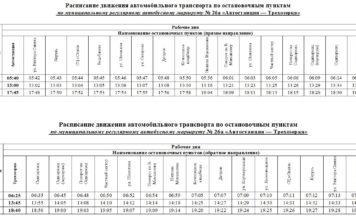 Расписание автобуса №26а «Автостанция - Трехозерка» в Сыктывкаре