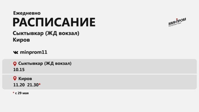 Сыктывкар-Киров