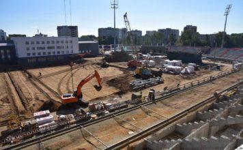 Реконструкция стадиона в Сыктывкаре к чемпионату мира