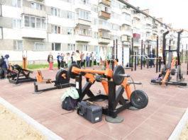 Спортивная площадка для комплекса ГТО в Выльгорте