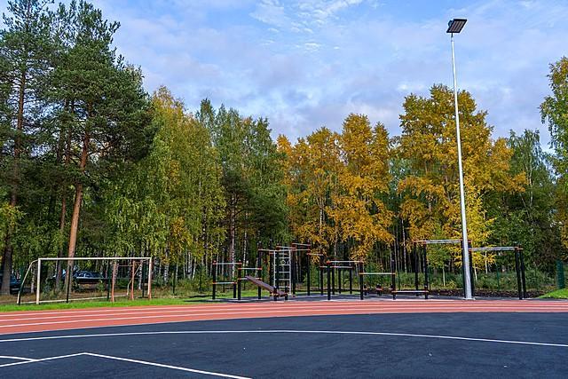Спортивный стадион Максаковка