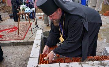 В Сыктывкаре заложили первый кирпич будущего храма