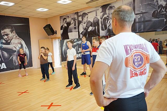 В центре Сыктывкара открылся зал для занятий боксом